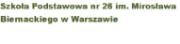 Szkoła Podstawowa nr 26 w Warszawie 11.06.2012