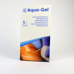 AQUA GEL-hydrożel na trudno gojące się rany i oparzenia 12×24 cm-5 szt.